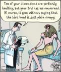 Cartoonist Dan Piraro  Bizarro 2012-02-10 ancient
