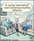 Comic Strip Dan Piraro  Bizarro 2012-03-09 rabbit