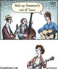 Cartoonist Dan Piraro  Bizarro 2012-03-23 key