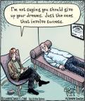 Cartoonist Dan Piraro  Bizarro 2012-04-14 goal