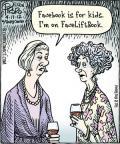 Cartoonist Dan Piraro  Bizarro 2012-04-17 Facebook