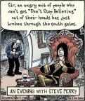 Cartoonist Dan Piraro  Bizarro 2012-04-20 song