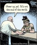 Cartoonist Dan Piraro  Bizarro 2012-05-04 ancient