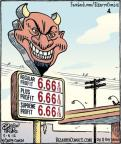 Cartoonist Dan Piraro  Bizarro 2012-05-05 gas