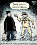 Cartoonist Dan Piraro  Bizarro 2012-05-15 sleepy