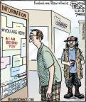 Cartoonist Dan Piraro  Bizarro 2012-05-24 area