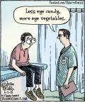 Cartoonist Dan Piraro  Bizarro 2012-06-02 candy