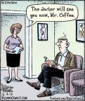 Cartoonist Dan Piraro  Bizarro 2012-06-04 coffee