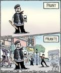 Cartoonist Dan Piraro  Bizarro 2012-07-03 french