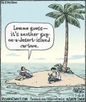 Cartoonist Dan Piraro  Bizarro 2012-07-13 desert