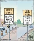 Cartoonist Dan Piraro  Bizarro 2012-07-19 road