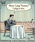 Cartoonist Dan Piraro  Bizarro 2012-07-27 player