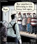 Cartoonist Dan Piraro  Bizarro 2012-08-16 Waldo