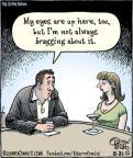 Cartoonist Dan Piraro  Bizarro 2012-08-31 always
