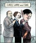 Cartoonist Dan Piraro  Bizarro 2012-09-07 mutant
