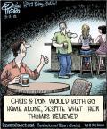 Cartoonist Dan Piraro  Bizarro 2012-09-13 single man
