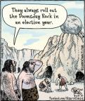 Cartoonist Dan Piraro  Bizarro 2012-09-17 2012 election