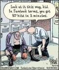 Cartoonist Dan Piraro  Bizarro 2012-10-08 Facebook