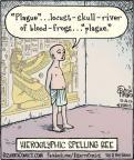 Cartoonist Dan Piraro  Bizarro 2012-10-22 ancient
