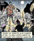 Comic Strip Dan Piraro  Bizarro 2012-10-27 summer