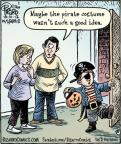 Cartoonist Dan Piraro  Bizarro 2012-10-30 wasn't