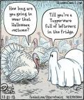 Cartoonist Dan Piraro  Bizarro 2012-11-21 Halloween