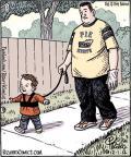 Cartoonist Dan Piraro  Bizarro 2012-12-01 state