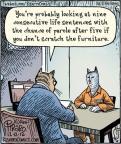 Cartoonist Dan Piraro  Bizarro 2012-12-12 nine