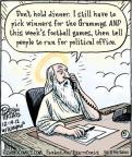 Cartoonist Dan Piraro  Bizarro 2012-12-14 winner