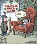 Cartoonist Dan Piraro  Bizarro 2012-12-22 claus