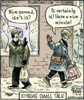 Cartoonist Dan Piraro  Bizarro 2013-01-07 isn't