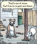 Cartoonist Dan Piraro  Bizarro 2013-01-10 Facebook
