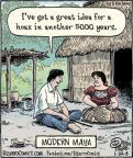Cartoonist Dan Piraro  Bizarro 2013-01-24 great
