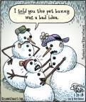 Comic Strip Dan Piraro  Bizarro 2013-01-29 bunny
