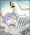 Cartoonist Dan Piraro  Bizarro 2013-02-08 chicken