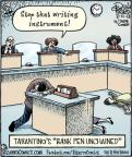 Cartoonist Dan Piraro  Bizarro 2013-02-11 entertainment