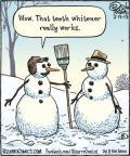Cartoonist Dan Piraro  Bizarro 2013-02-13 white