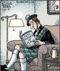 Comic Strip Dan Piraro  Bizarro 2013-02-27 50 Shades of Grey
