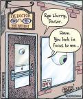 Cartoonist Dan Piraro  Bizarro 2013-03-16 focus