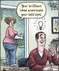 Cartoonist Dan Piraro  Bizarro 2013-03-14 light