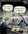 Cartoonist Dan Piraro  Bizarro 2013-03-20 beer
