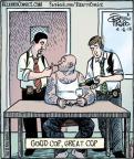 Cartoonist Dan Piraro  Bizarro 2013-04-06 great