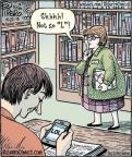 Cartoonist Dan Piraro  Bizarro 2013-04-22 speak