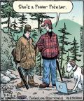 Comic Strip Dan Piraro  Bizarro 2013-06-11 hunting dog