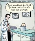 Cartoonist Dan Piraro  Bizarro 2013-06-12 physiology