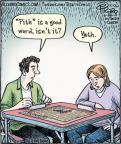 Cartoonist Dan Piraro  Bizarro 2013-06-28 player