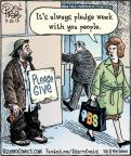 Cartoonist Dan Piraro  Bizarro 2013-07-22 station