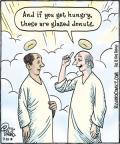 Cartoonist Dan Piraro  Bizarro 2013-07-23 afterlife