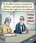 Cartoonist Dan Piraro  Bizarro 2013-08-09 TMI