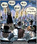 Cartoonist Dan Piraro  Bizarro 2013-08-16 justice